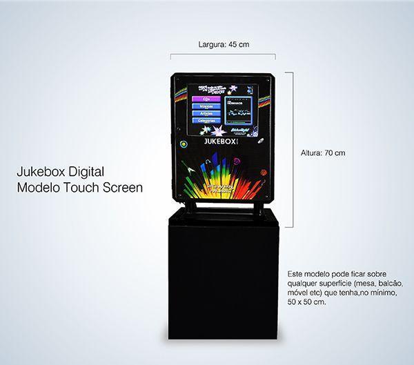 Jukebox Compact - Medidas