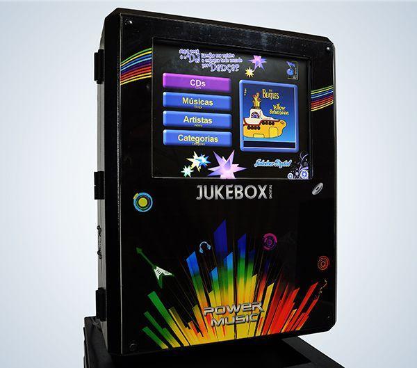 Jukebox Compact - Foto próxima