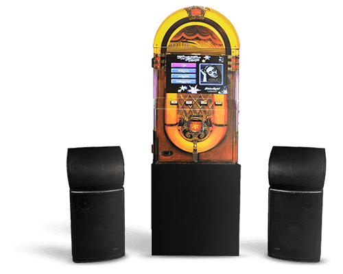 Máquina de Música Jukebox Retrô