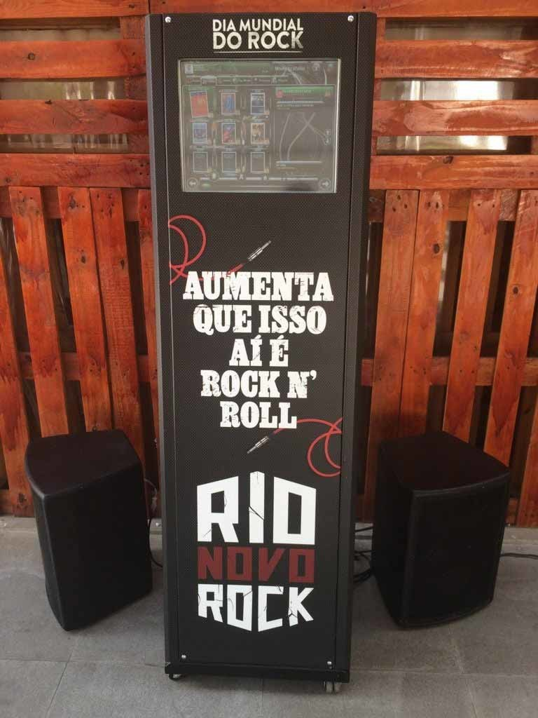 dia mundial do rock - jukebox totem