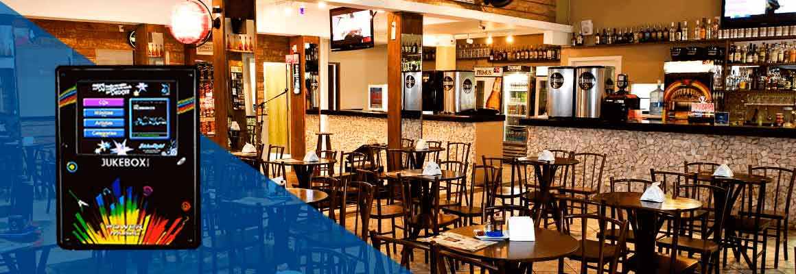Máquina de Música para Bar, Restaurantes e Clubes