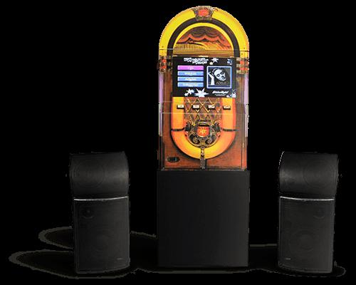 Máquina de Música Jukebox Retrô