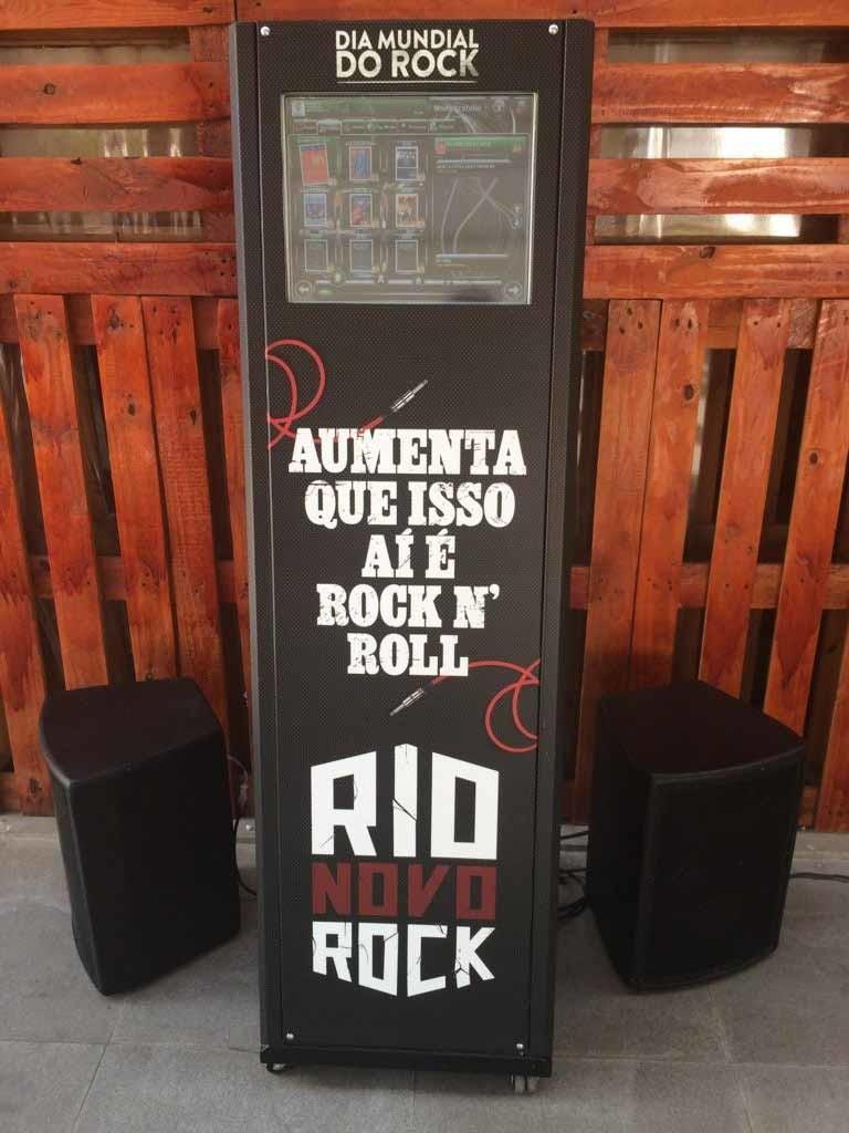 dia mundial do rock - jukebox totem